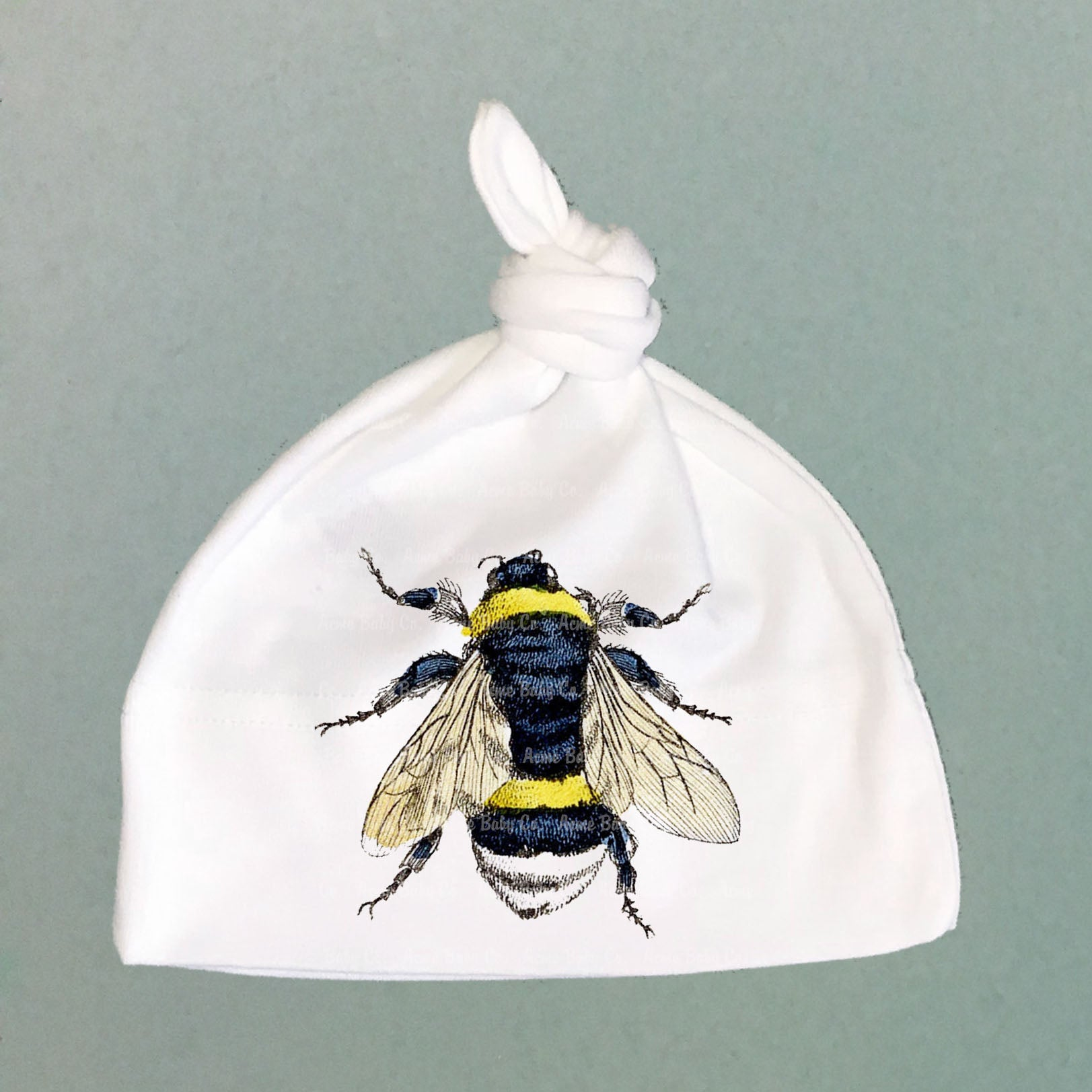 Baby Bee Organic Cotton Knit Cap