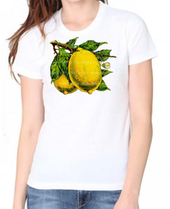 Vintage Lemon Organic Women's Shirt