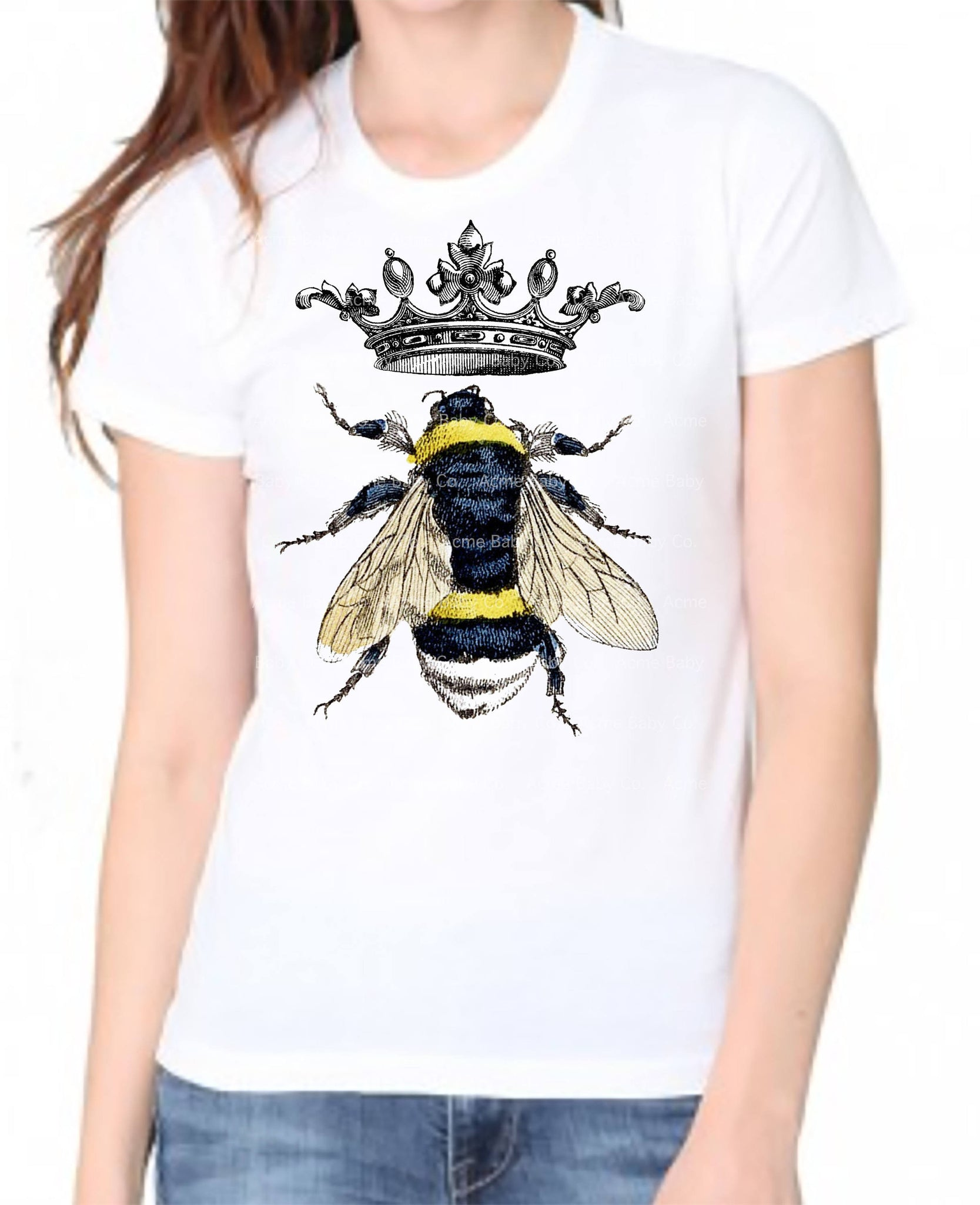 Women's Queen Bee Organic Tee Shirt