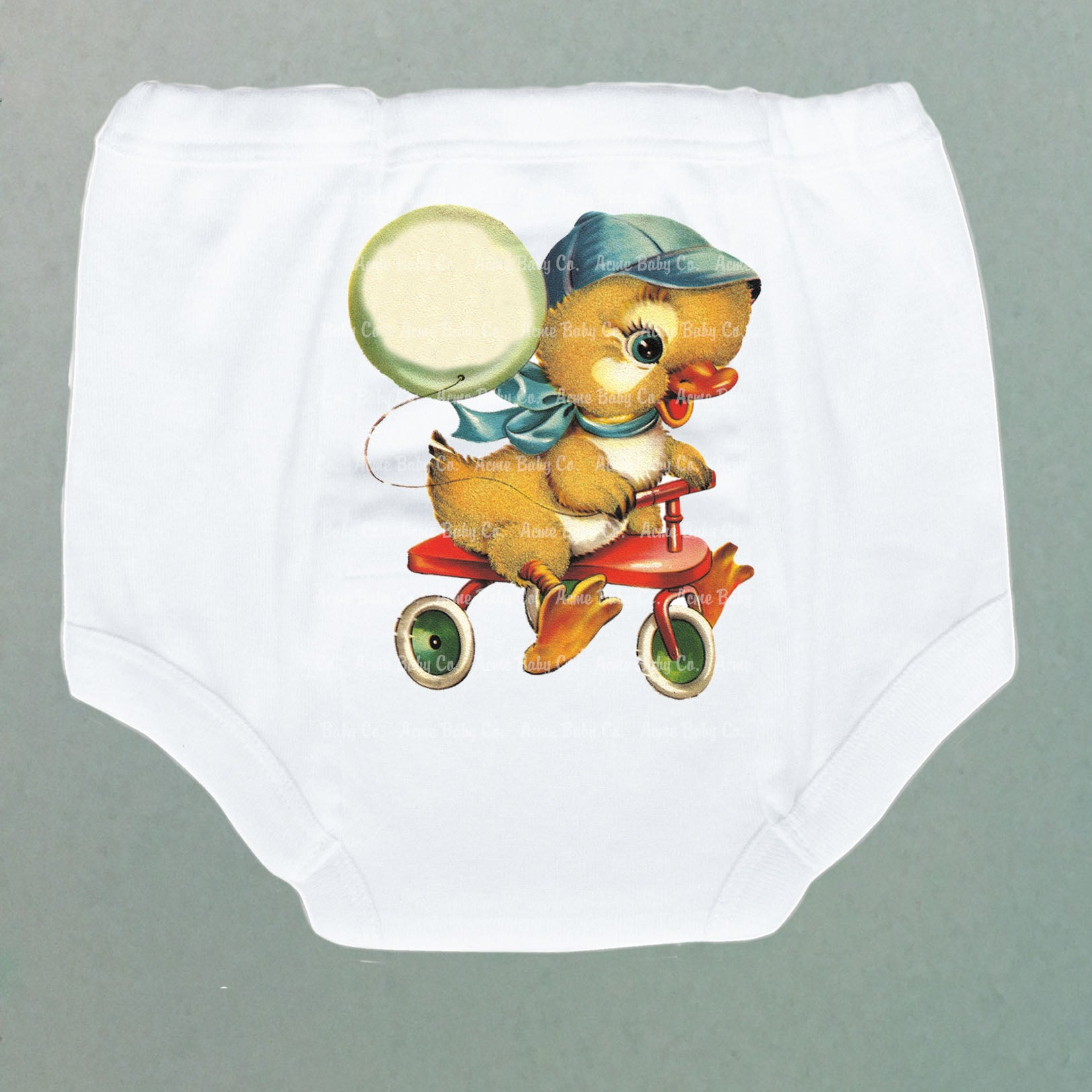 Tricycle Duckling Potty Training Pants