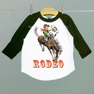 Rodeo Children's Raglan Shirt