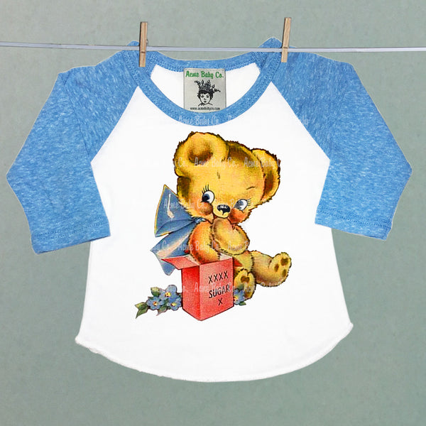 Sugar Bear Valentine Raglan Shirt