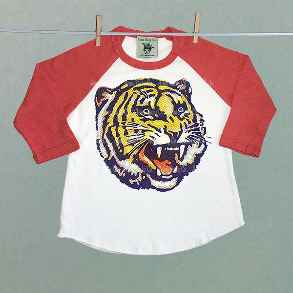 Roaring Tiger Children's Raglan Shirt