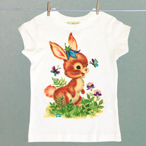 Summer Bunny Girl's Shirt