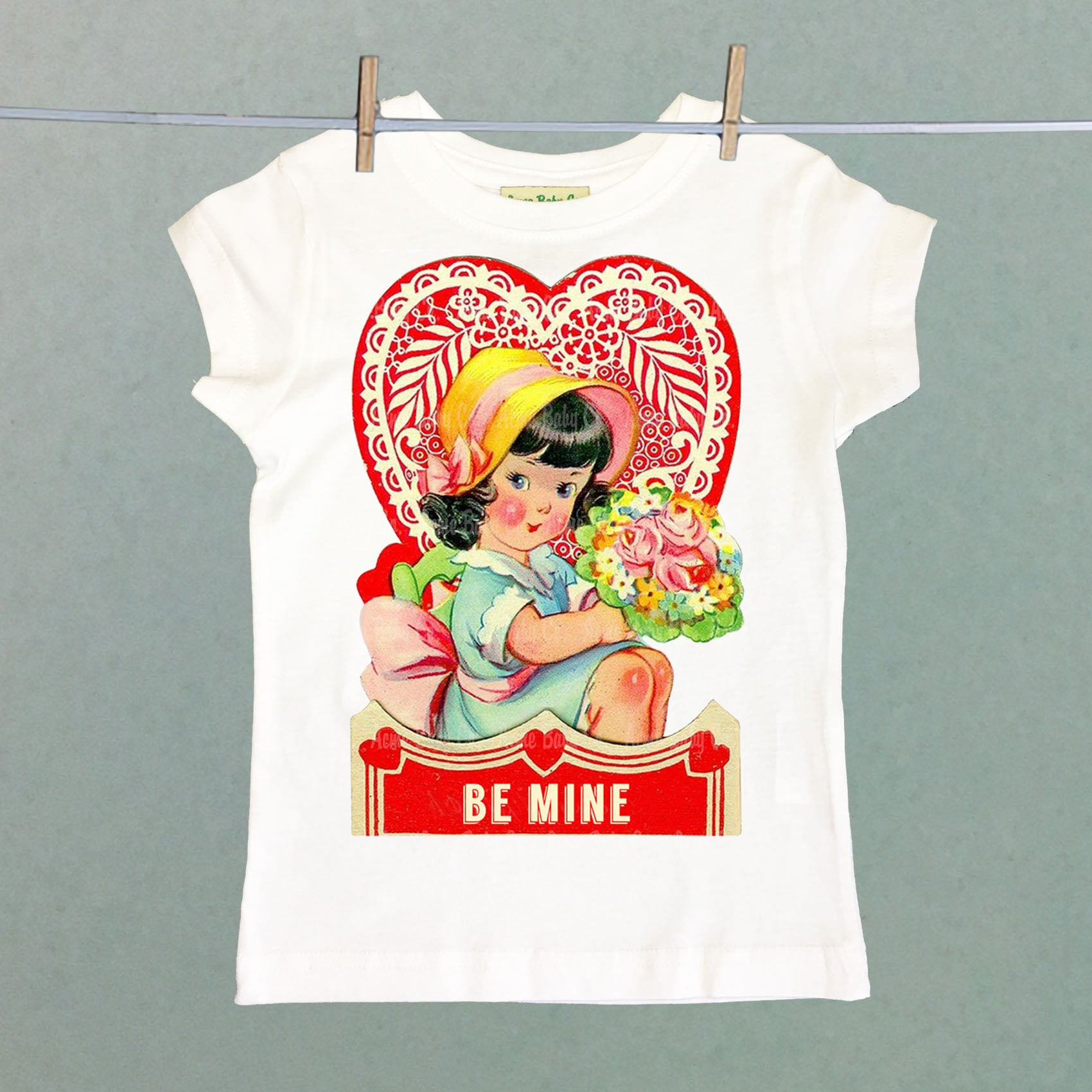 Be Mine Girl's Shirt