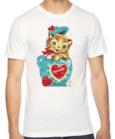 Sugar Kitty Adult Unisex Organic Shirt