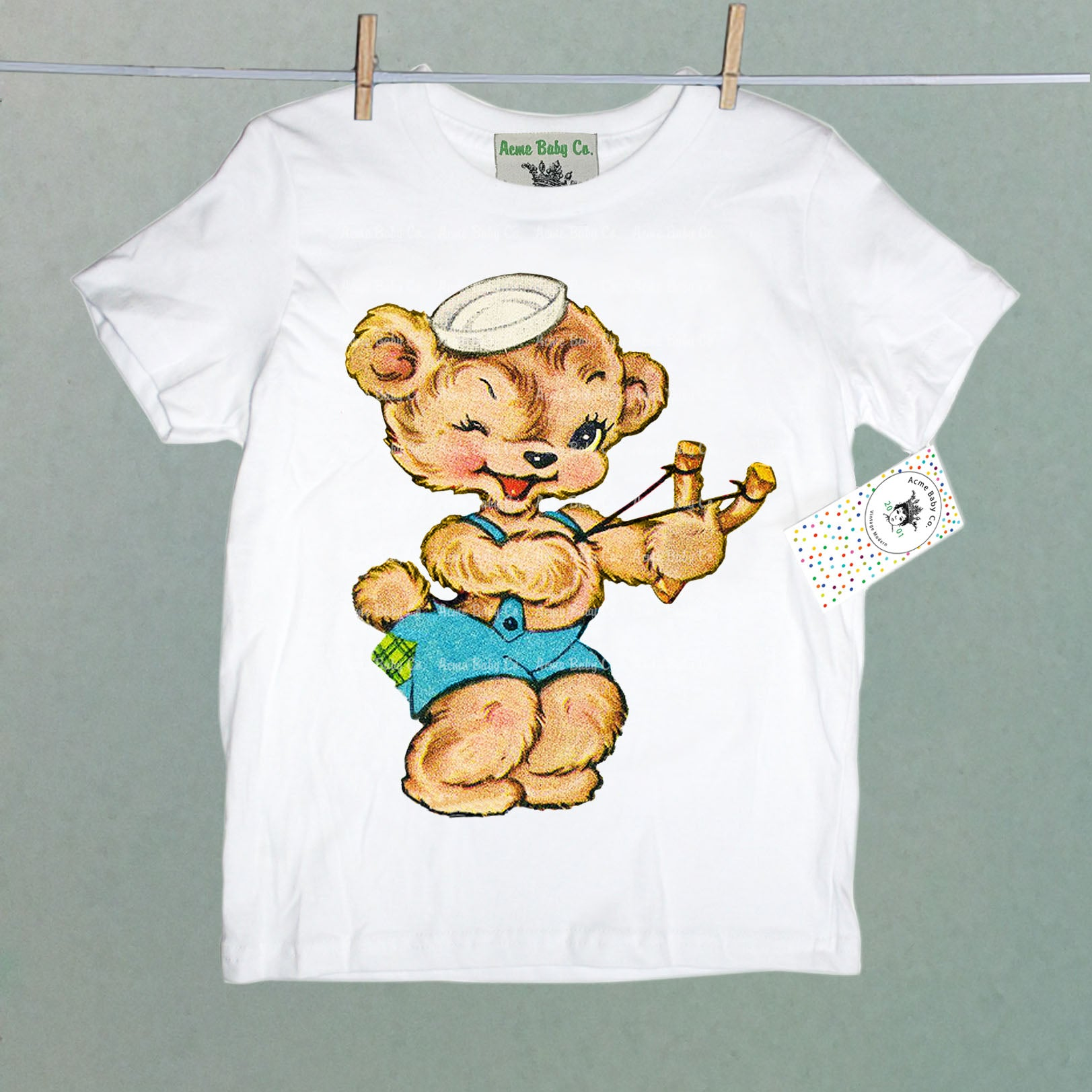Rascal Bear Organic Children's Shirt