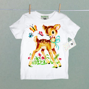 Forest Deer Organic Children's Shirt