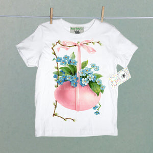 Pink Easter Egg Organic Children's Shirt