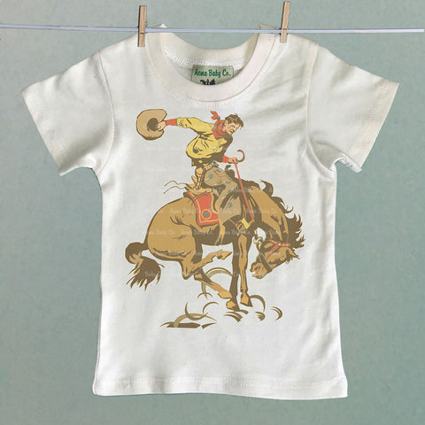 Buckaroo and Bucking Bronco Children's Shirt