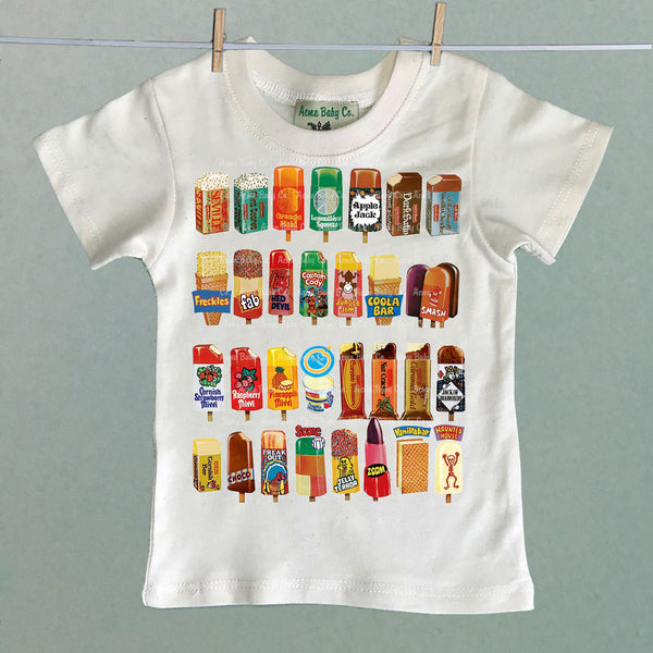 Ice Cream Variety Organic Children's Shirt