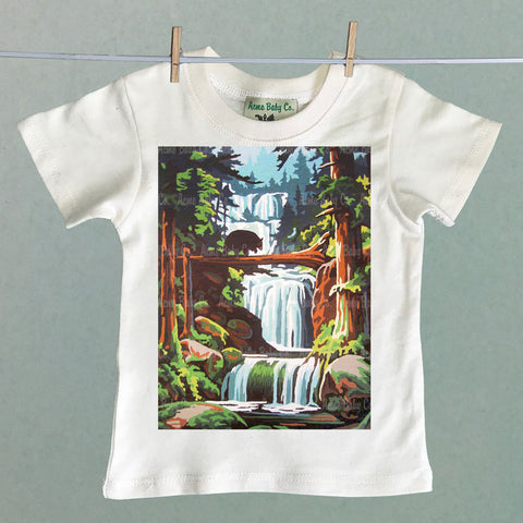 Pacific Northwest Bear Organic Children's Shirt