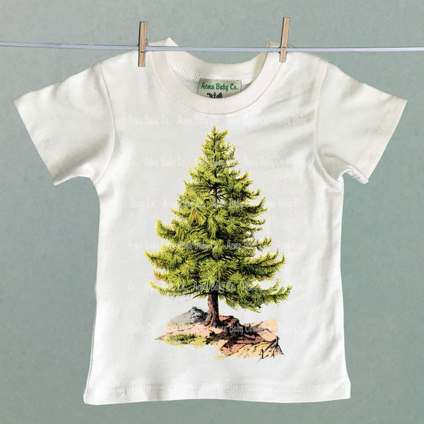 Pine Tree Organic Children's Shirt