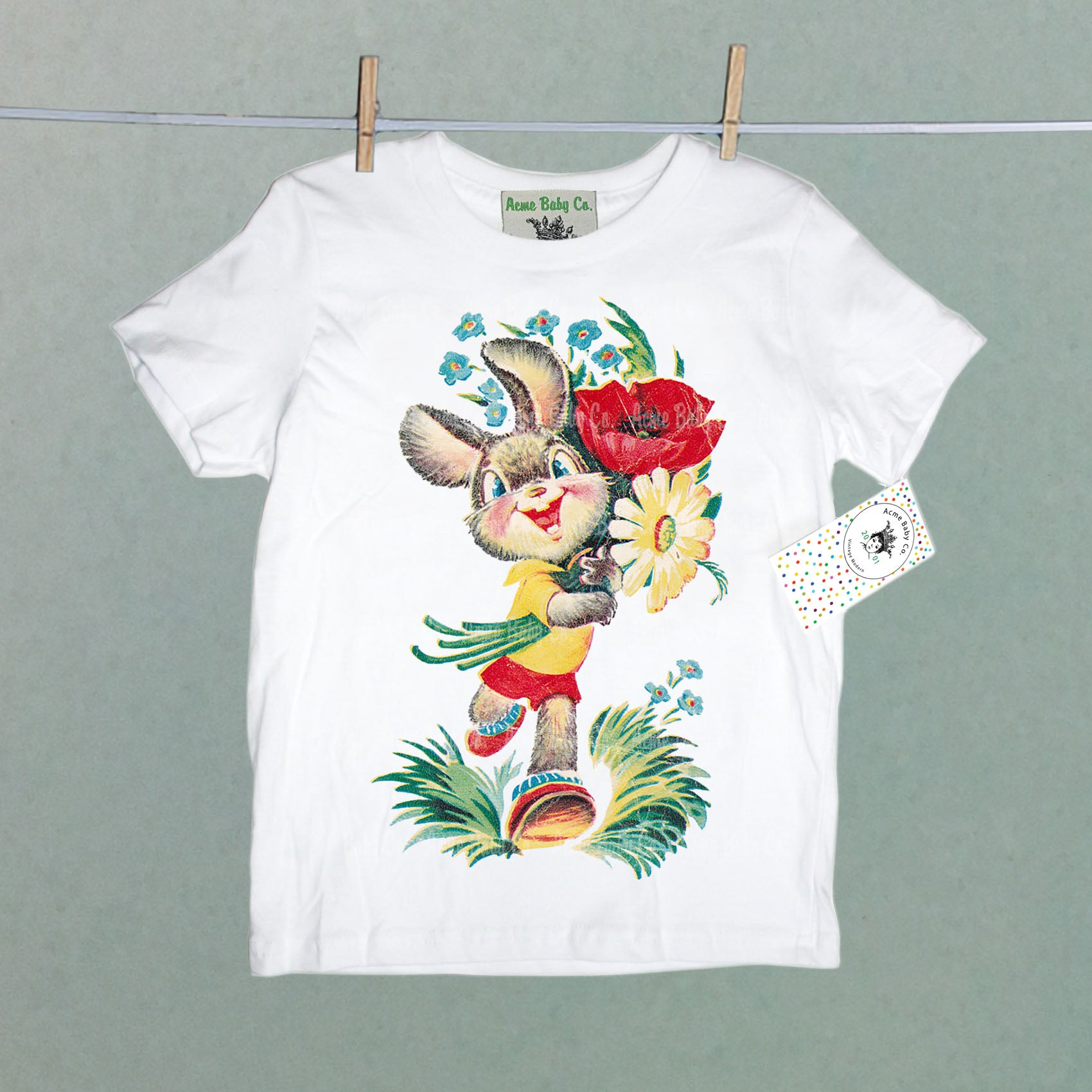 Happy Bunny Organic Children's Shirt