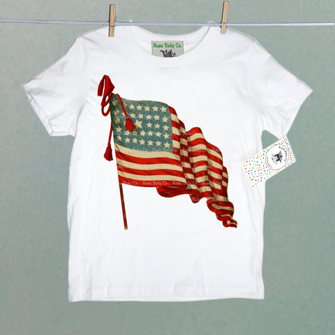 American Flag Children's Shirt