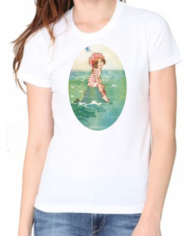 Beach Girl Women's Organic Shirt