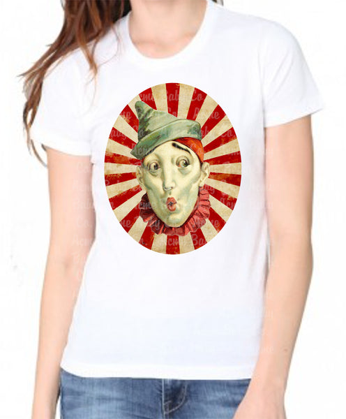 French Clown Women's Organic Shirt