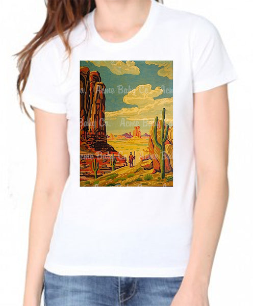 Southwest Paint by Numbers Organic Women's Shirt
