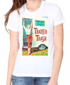 Trailer Trash Organic Women's Shirt