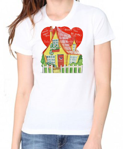 House About It Valentine Women's Organic Shirt