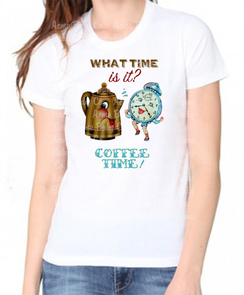 Coffee Time Kitsch Women's Organic Shirt