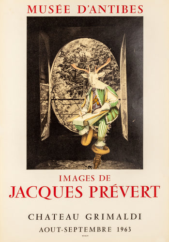 Images - Musée d'Antibes by Jacques Prevert, 1963