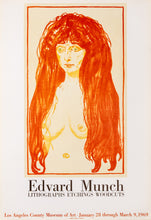 The Sin - Lithographs Etchings Woodcuts - LACMA (after) Edvard Munch, 1969