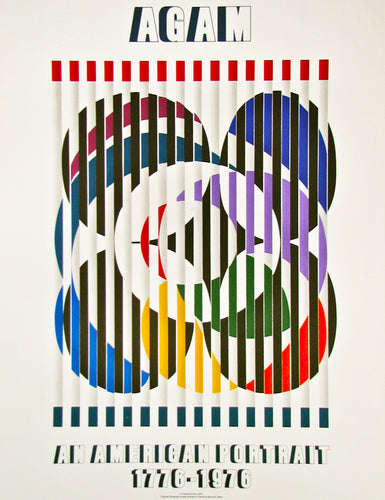 Birth of a Flag - An American Portrait (after) Yaacov Agam, 1976