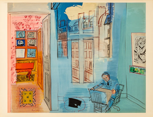 L'atelier (after) Raoul Dufy, 1969