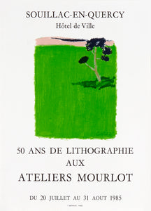 tribute to Atelier Mourlot lithography poster Cathelin