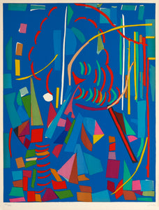 Blue Composition by André Lanskoy 1965