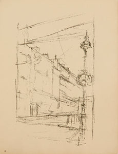 From the Portfolio Paris sans Fin by Alberto Giacometti 1958-1965