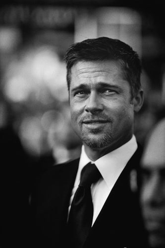 Brad Pitt by Stephane Kossmann