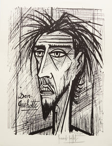 Don Quixote I (B&W) by Bernard Buffet