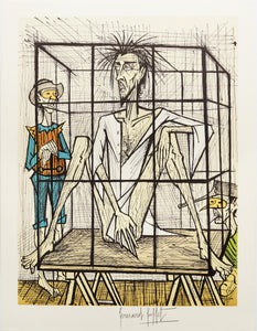 Don Quixote en Cage by Bernard Buffet