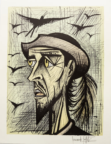 Don Quixote with Hat X by Bernard Buffet