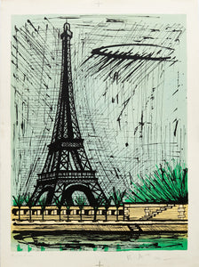 Eiffel Tower (B.A.T.) by Bernard Buffet