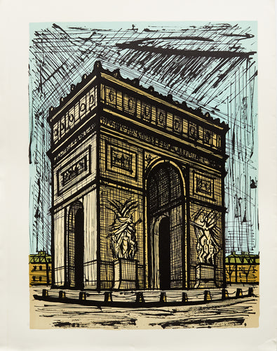 L'Arc de Triomphe by Bernard Buffet