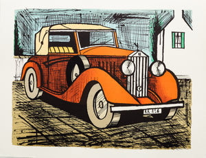 Rolls Royce 1926 Rouge by Bernard Buffet