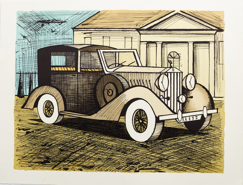Rolls Royce 1937 by Bernard Buffet