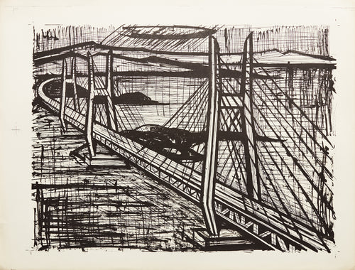 San Francisco Bridge by Bernard Buffet
