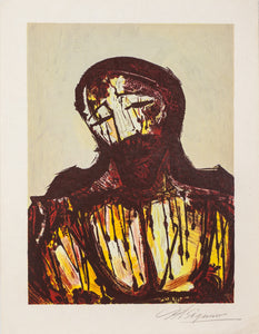 Christ Portrait by David Alfaro Siqueiros