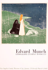 Lithographs, Etching, Woodcuts; Los Angeles County Museum by Edvard Munch