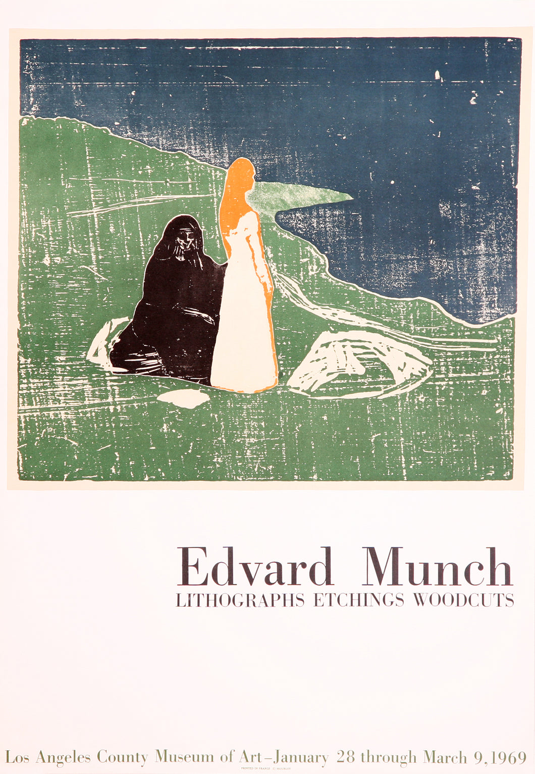 Lithographs, Etching, Woodcuts - LACMA (after) Edvard Munch, 1969