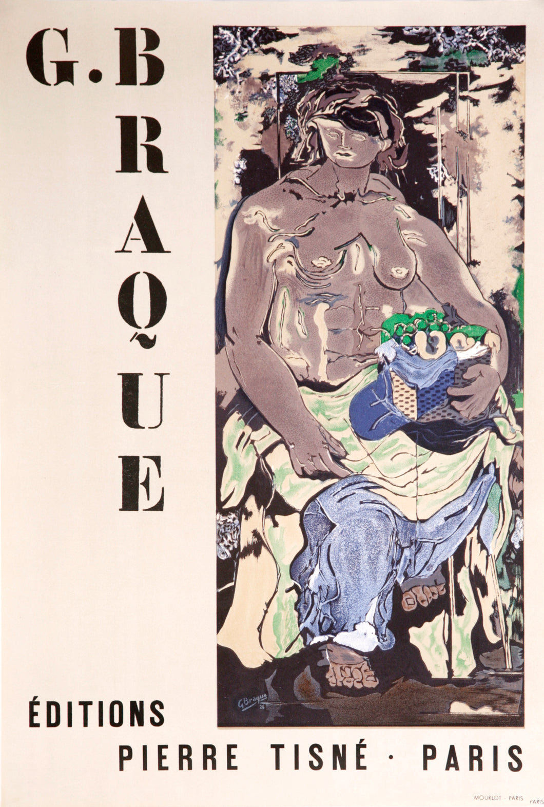 Editions Pierre Tisne-Paris by Georges Braque 1953
