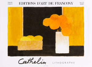 Editions d'art de Francony by Bernard Cathelin 1990