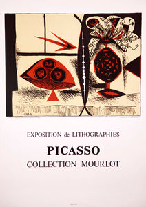 Exposition de Lithographies, Collection Mourlot by Pablo Picasso 1988