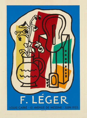 Galerie Louis Carre by Fernand Léger 1953