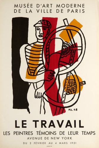 Le Travail by Fernand Léger 1951