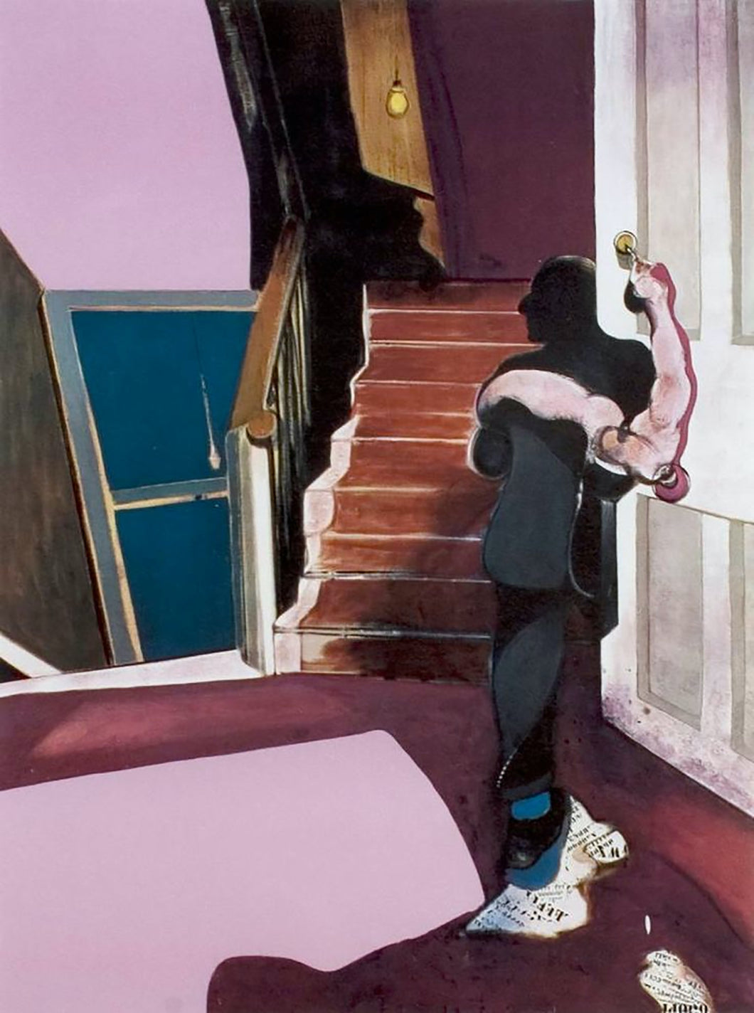 In Memory of George Dyer by Francis Bacon (Framed)